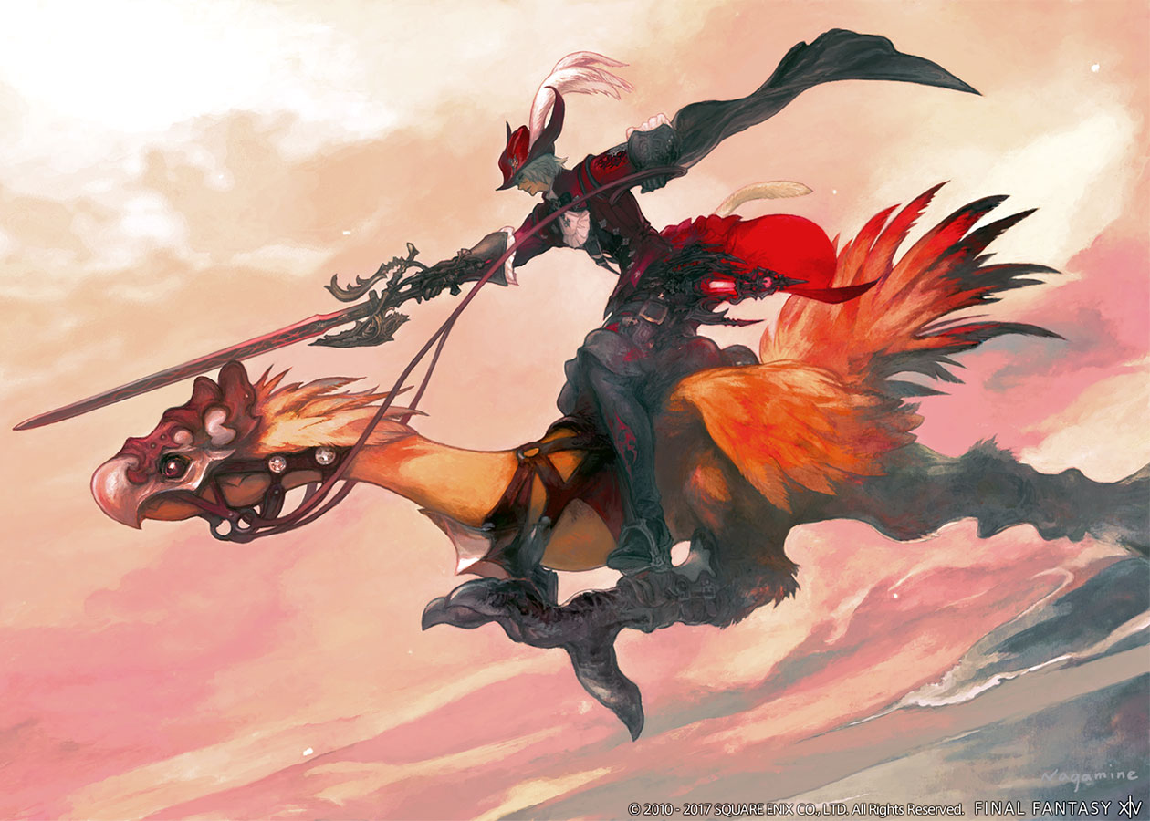 Red Mage Illustration Characters Amp Art Final Fantasy