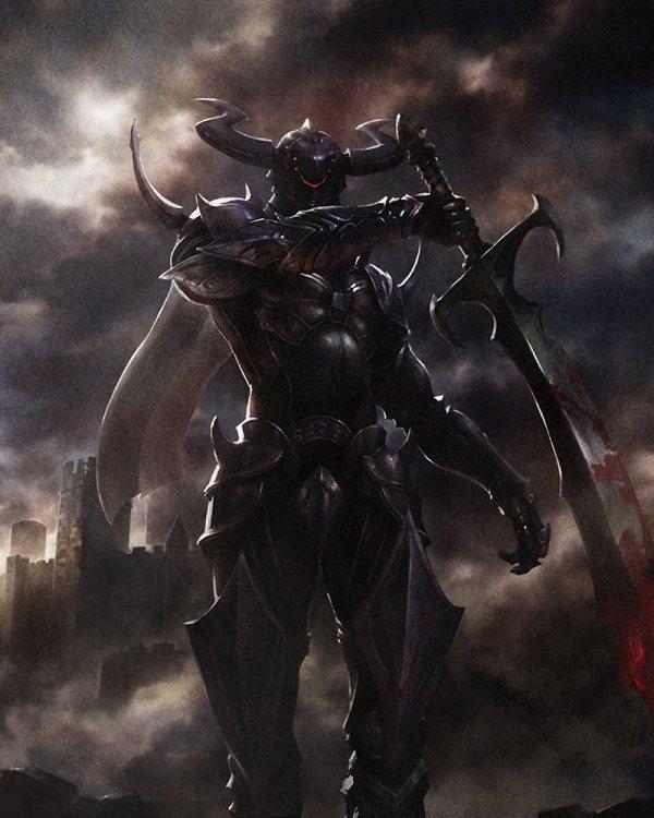 Dark Knight Art - Mobius Final Fantasy