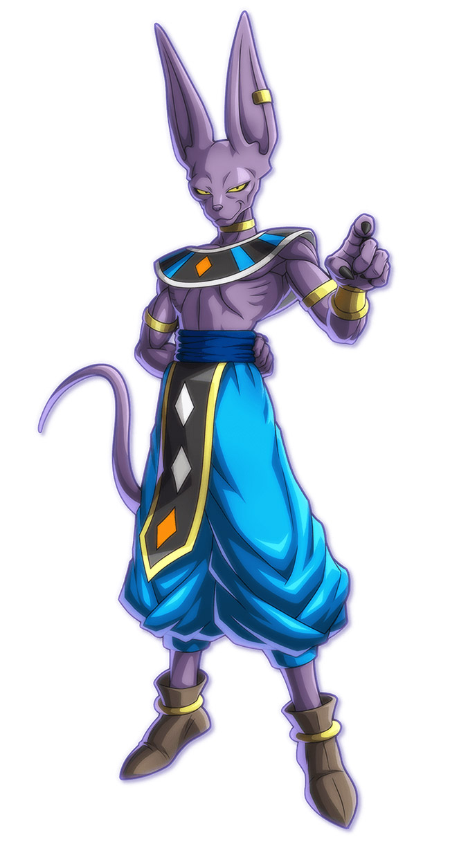 Beerus Art Dragon Ball Fighterz Art Gallery