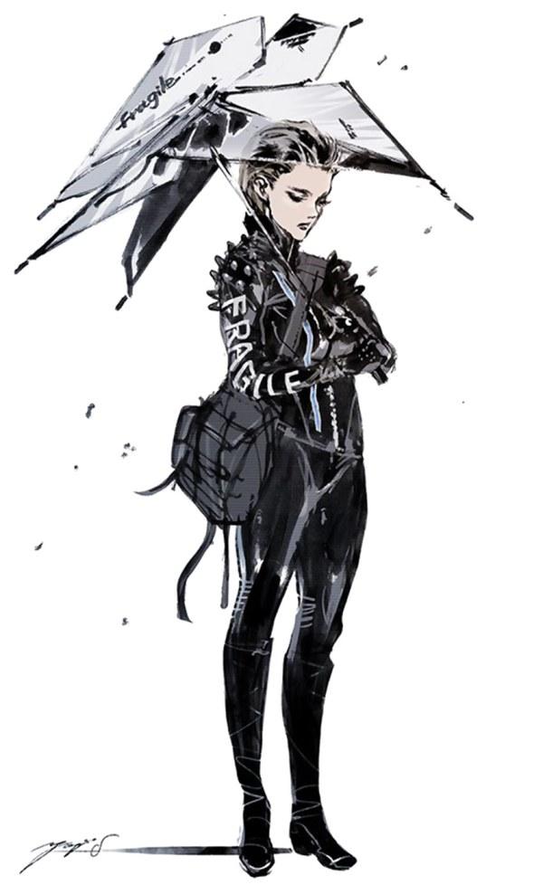 Character Concept Art - Death Stranding