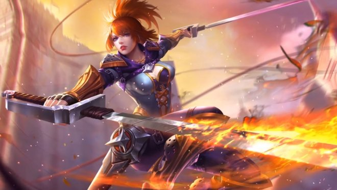 fanny art - mobile legends: bang bang art gallery