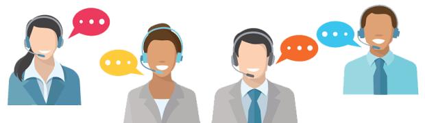 Image result for recruit call center cartoon