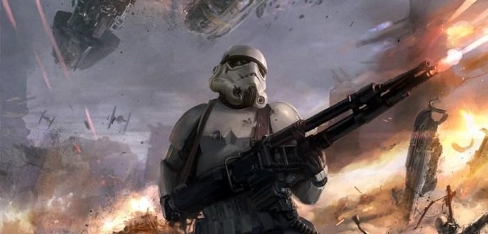 Star Wars Stormtroopers Fantasy Art Artwork Bwing Down: Amazing Star Wars Illustrations