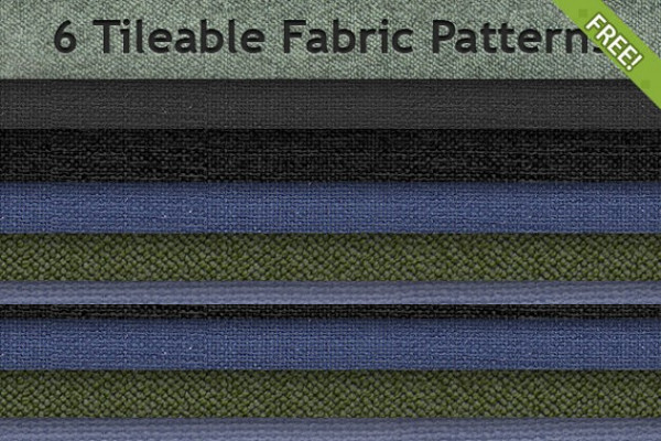 6 Free Tileable Fabric Pattern Pack Free
