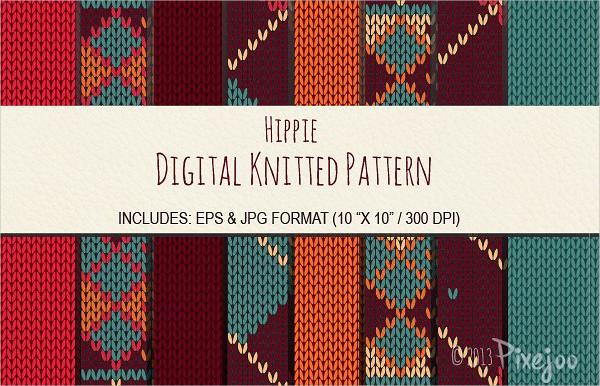 8 Seamless Knitted Sweater Pattern