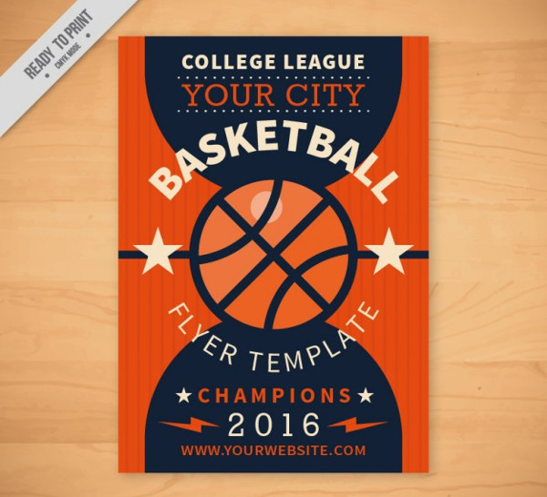 Basketball Flyer Template Free Download