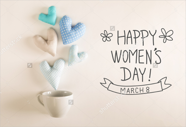 Perfect Womens Day Greeting Card Design