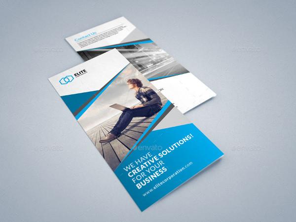 Creative & Minimalist Trifold Brochure
