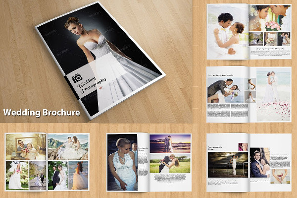 Customizable InDesign Wedding Brochure