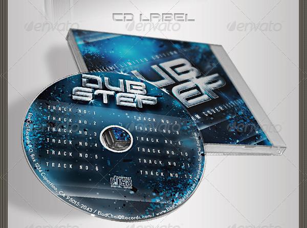 PSD CD Insert & Label Templates