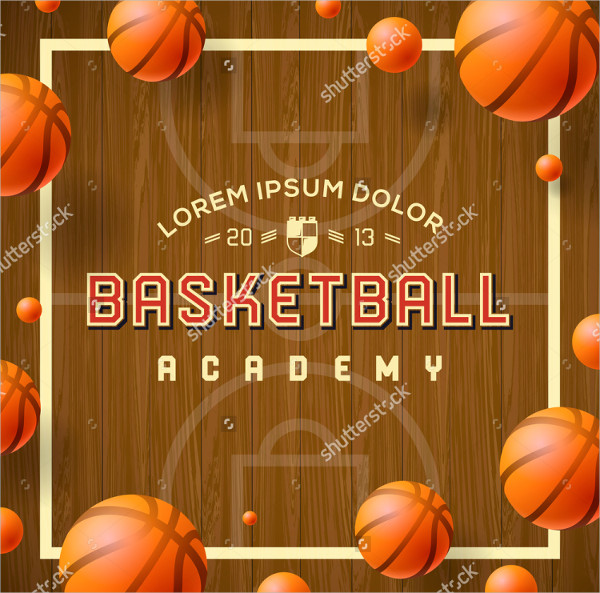 Clean Basketball Academy Template