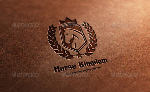 Horse Kingdom Logo Template