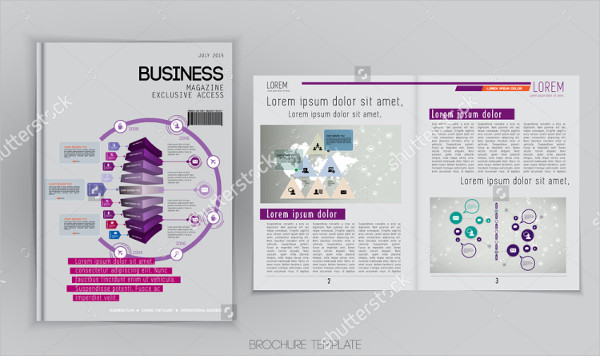 Layout Magazine Vector Download