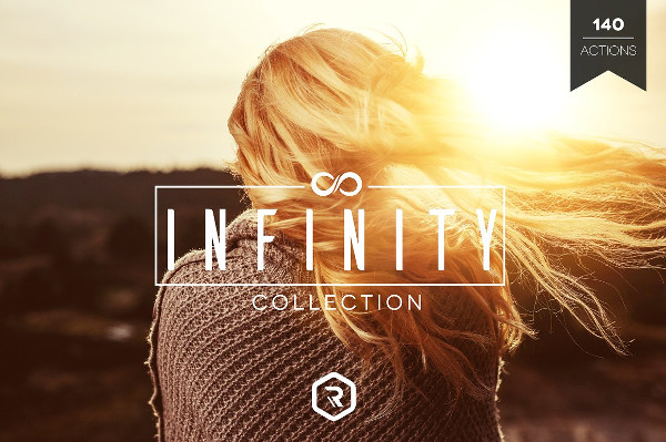 Infinity Photoshop Action Collection