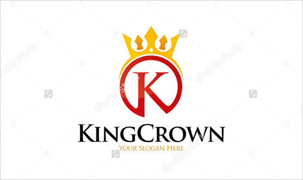 King Crown Logo Template