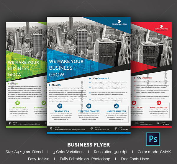Latest Business Flyer Template