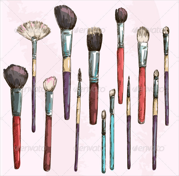 Make Up Brushes Collection