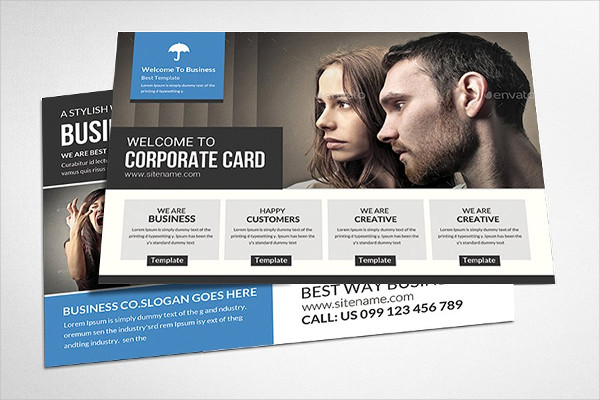 Multi-Use Business Postcard Templates