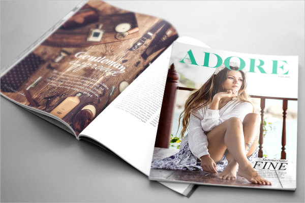 Industry InDesign Magazine Template