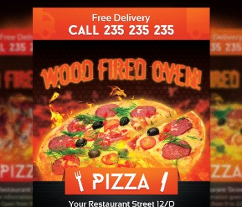 Pizza Flyer Templates