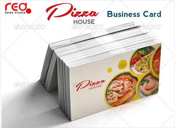 Decorative Restaurant Business Card PSD