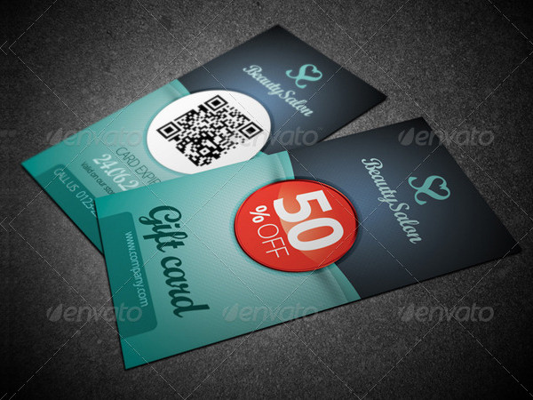 Luxury Voucher Card Template