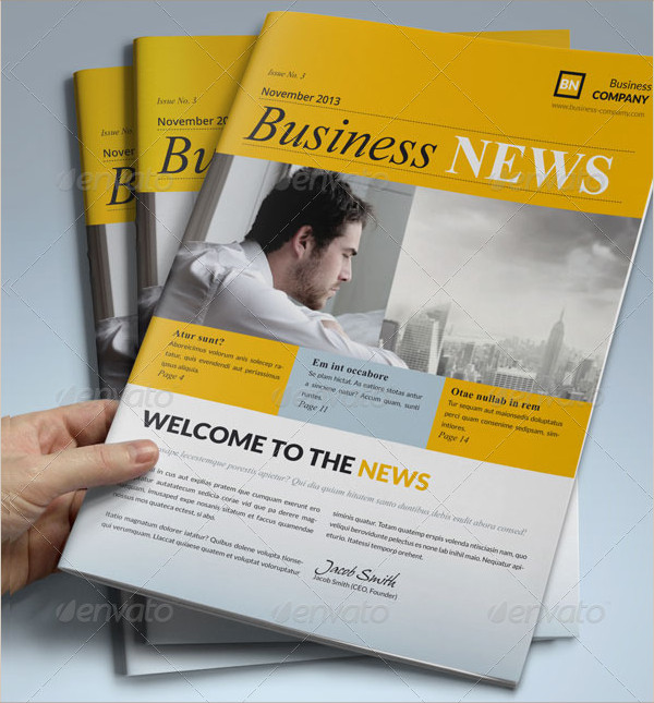 Business Newsletters Presentation