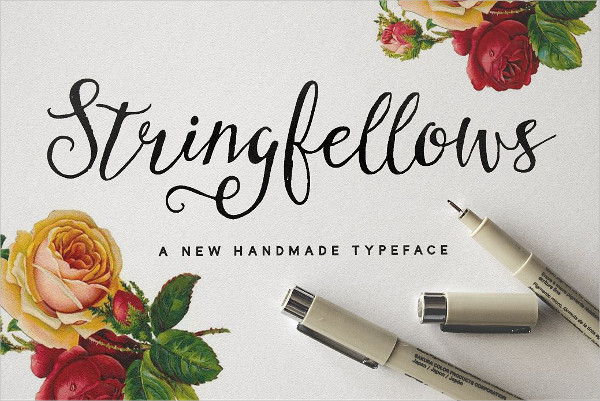Stringfellows Romantic Fonts