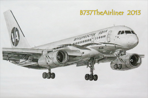 Airplane Drawing Pencil