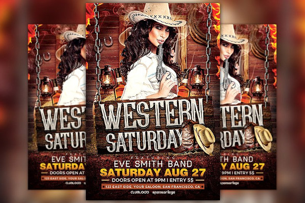 Saturday Flyer Template