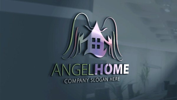 Angel Logo Templates