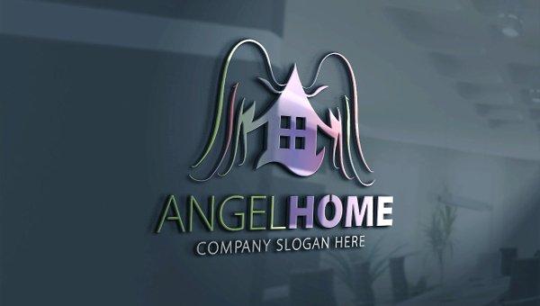 Angel Logo Templates