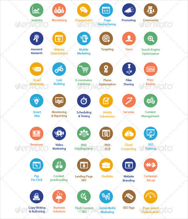 Best Strategy and Consultancy Icons