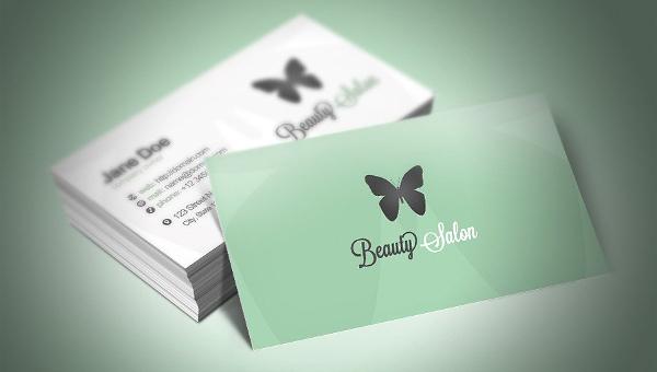 Beauty Salon Business Card Templates
