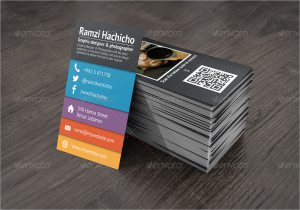 Collage Stylish Business Card Designs
