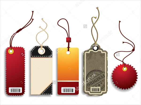Vector Price Tags Design