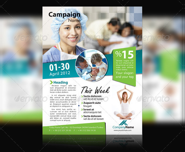 Best Campaign Flyer Template