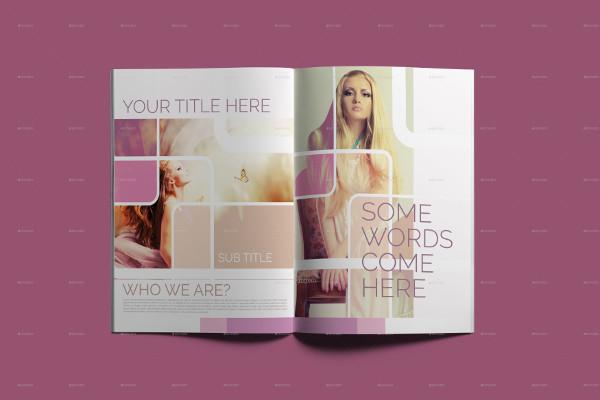Fashion & Beauty Brochure Template
