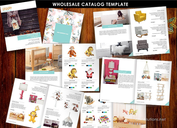 Modern Product Catalog Templates