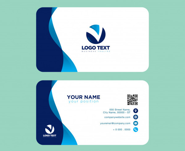 Free Business Card Template in Professional Look