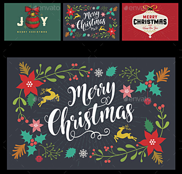 Happy Holidays Christmas Cards