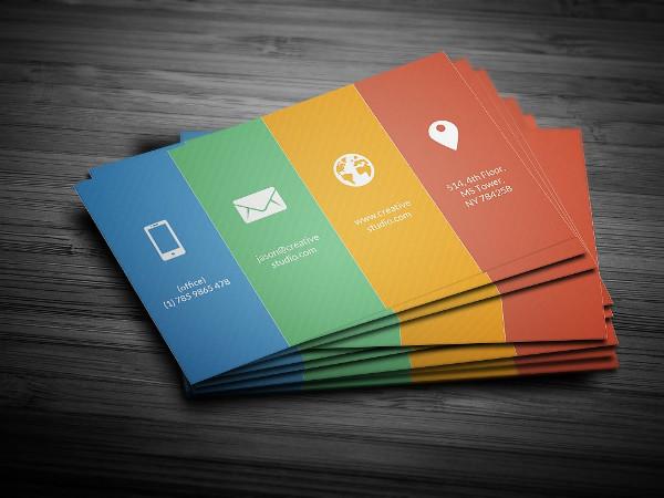 Metro Color Business Card Design