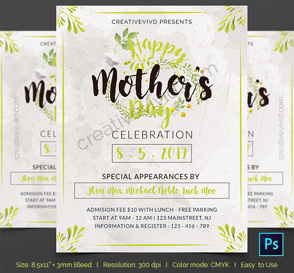Free Best Mother's Day Flyers