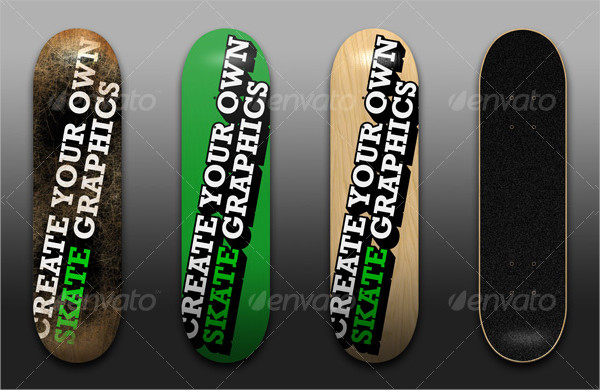 Popular Skateboard Design Template