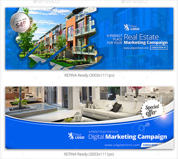 Real Estate Campaign Facebook Covers