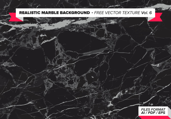 Realistic Marble Background Free Vector Textures
