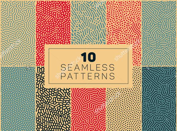 10 Seamless Biological Patterns