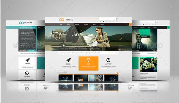 Website Display Presentation Mock-Up