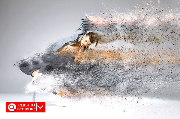 Sand Scatter Photoshop Action