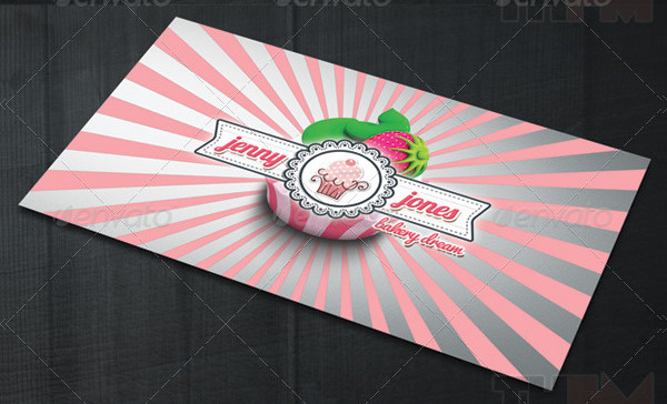 2 Sided Business or Visit Card Template